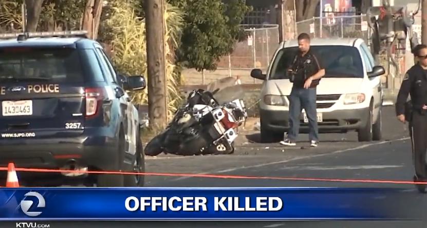 San Jose Motor Officer Killed in Head-On Crash