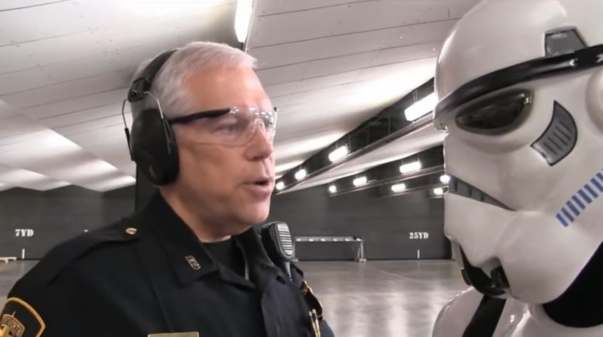TX Police Recruiting Video Spoofs Terrible Shooting Skills of