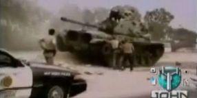 Stolen Tank Rampage In San Diego