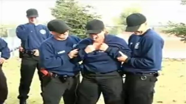 Bakersfield PD Recruits Get Tasered