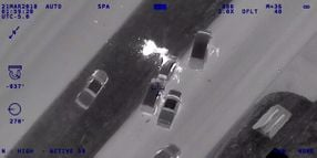 Texas DPS Releases Aerial Video of Pursuit that Ended in Gunfight, Explosion