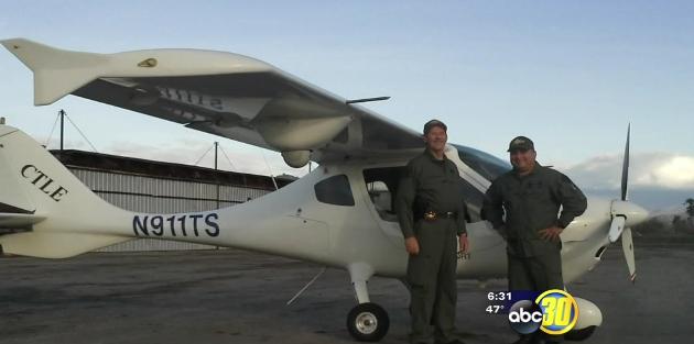 California Deputy and Pilot Killed in Plane Crash