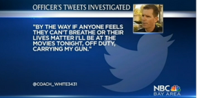 California Officer Placed on Leave After Controversial Tweets