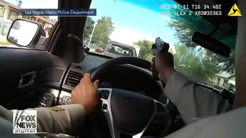 Nevada Police Exchange Gunfire with Fleeing Vehicle in Pursuit