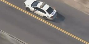 Stolen Police Car Pursuit In Philly