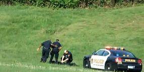 Conn. Cops Kick Prone Suspect
