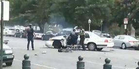 Citizen Captures Cruiser Crash In Capitol Chase