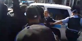 Chicago Cops Detain Gang Member