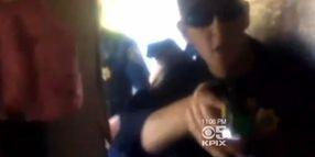 Calif. Cops TASER Domestic Suspect In Home