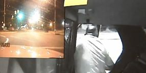 Suspect Jumps From Moving Cruiser