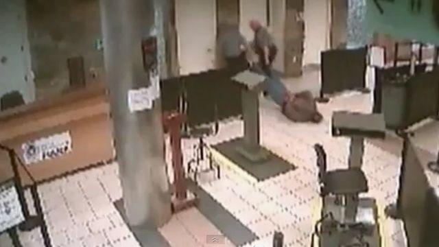 Cops Drag Man In Airport Arrest
