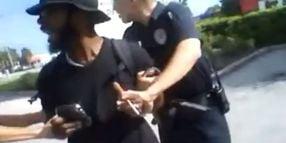 Fla. Cops TASER Jaywalker