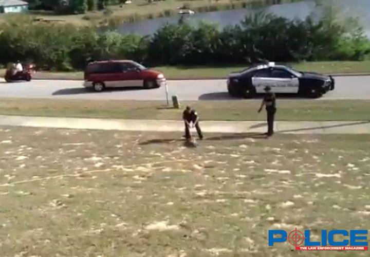 Fla. Deputy Wrestles Gator