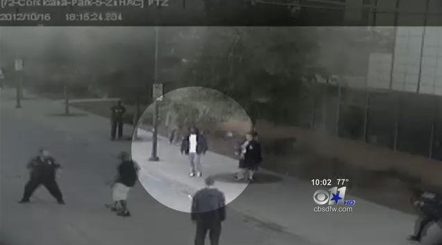 Homeless Ex-Crip Helps Officer