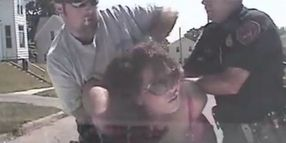 Plainclothes Cop Scuffles with Iowa Woman