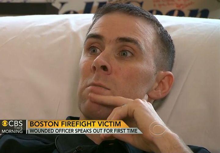 Cop Shot In Boston Manhunt Vows To Return To Duty