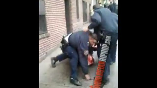 NYPD Drug Arrest In the Bronx