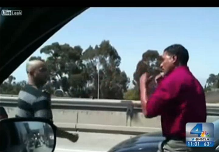Road Rage in L.A.