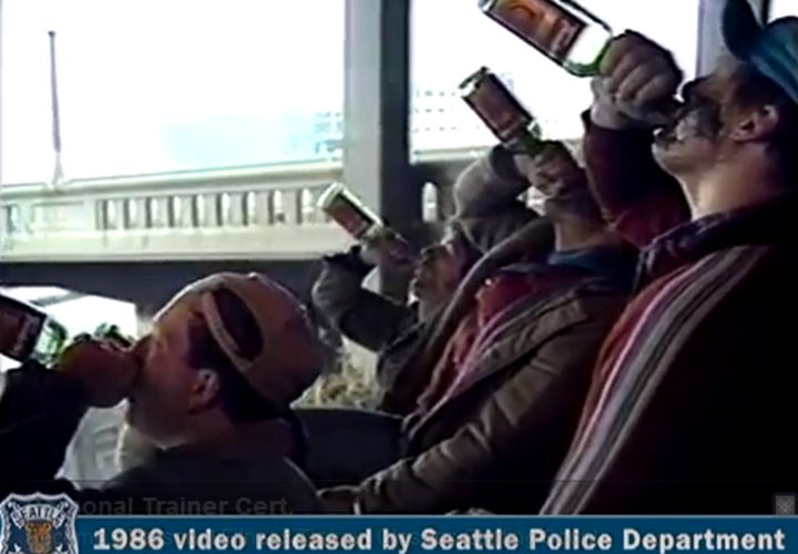 Seattle PD's Homeless Parody