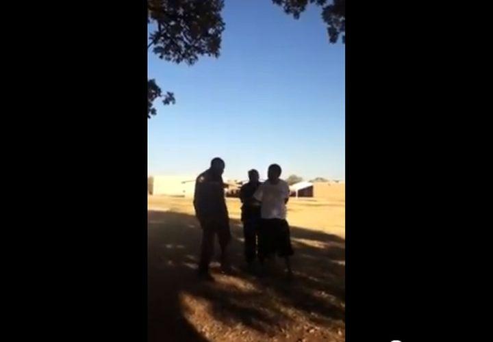 Texas Cop Curses at Teen