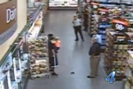 Deadly Force On Child Hostage Taker at Wal-Mart