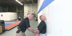 Handcuffing on a Wall