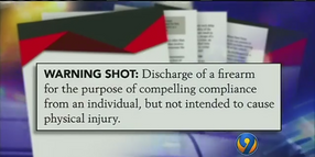 Warning Shots Considered as De-Escalation Technique