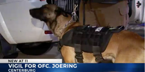 Slain Ohio Officer's K-9 Attended Vigil, Will Live with Family