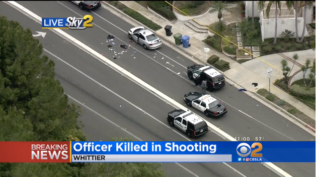1 CA Officer Killed, 1 Wounded in Shootout