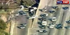 Wrong-Way Driver Leads Officers Through Los Angeles