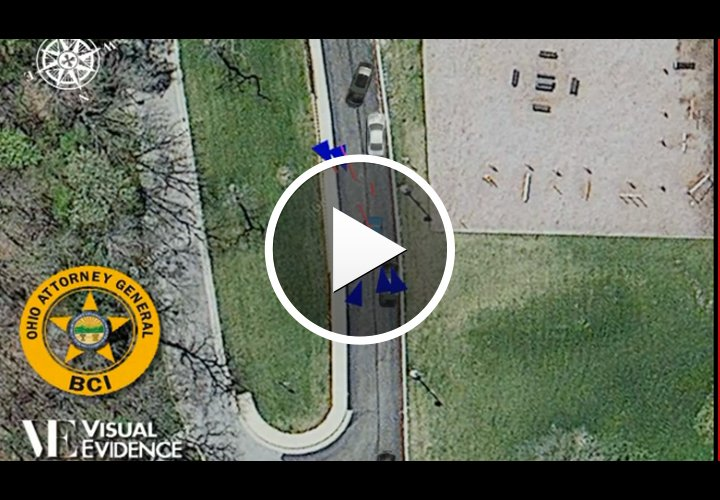 Animation Shows 2012 Cleveland Police Chase, Shooting