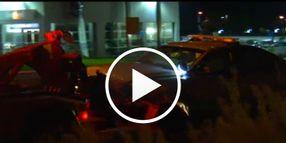 Prisoner Gets Loose, Connecticut State Police Car Wrecks