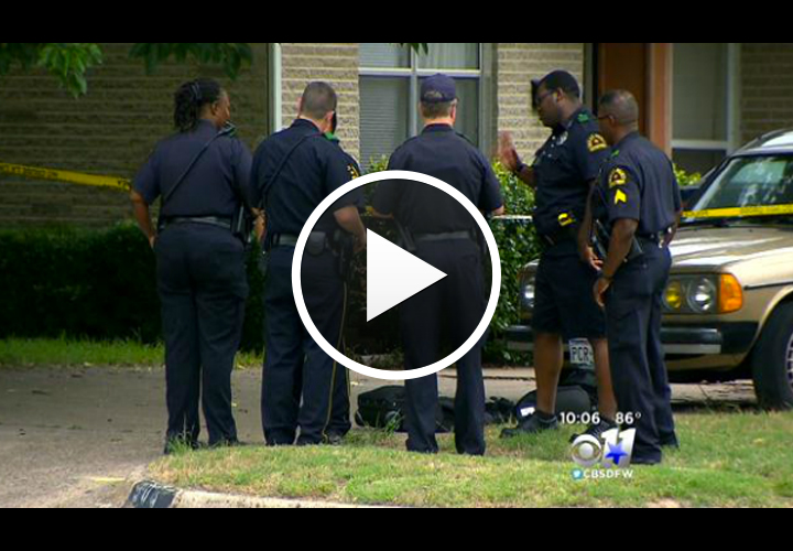 Dallas Officers Shoot, Kill Man Armed With Screwdriver