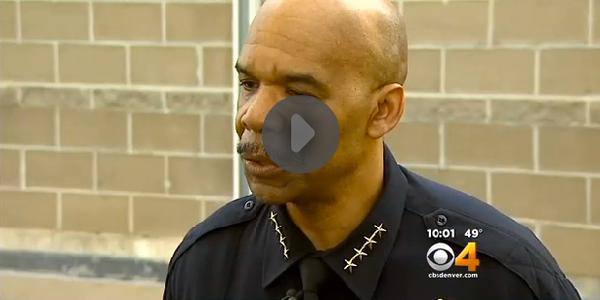 Handcuffed Prisoner Shoots at Denver Police Officer