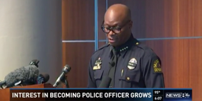 Dallas Police Overwhelmed by Calls and E-mails from People Wanting to Join Force