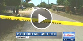 Texas Police Chief Shot, Killed on Traffic Stop