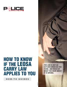 How To Know If the LEOSA Carry Law Applies to You