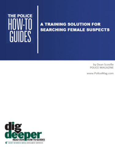 A Training Solution for Searching Female Suspects