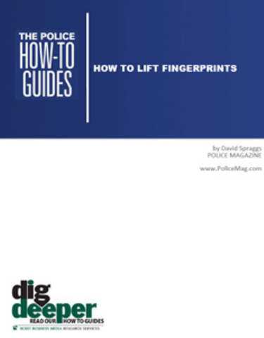 How To Lift Fingerprints