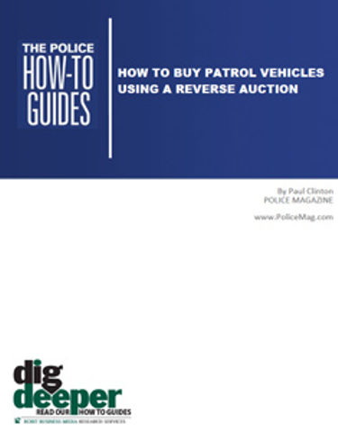 How To Buy Patrol Vehicles Using a Reverse Auction