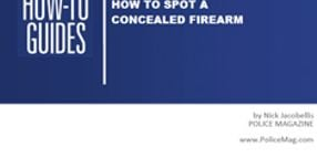 How To Spot a Concealed Firearm
