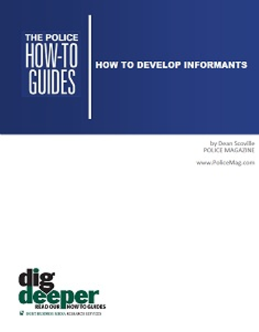 How To Develop Informants