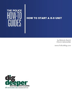 How To Start a K-9 Unit