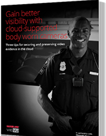 Gain Better Visibility with Cloud-Supported Body Worn Cameras