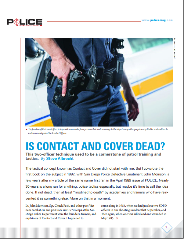 Is Contact and Cover Dead?