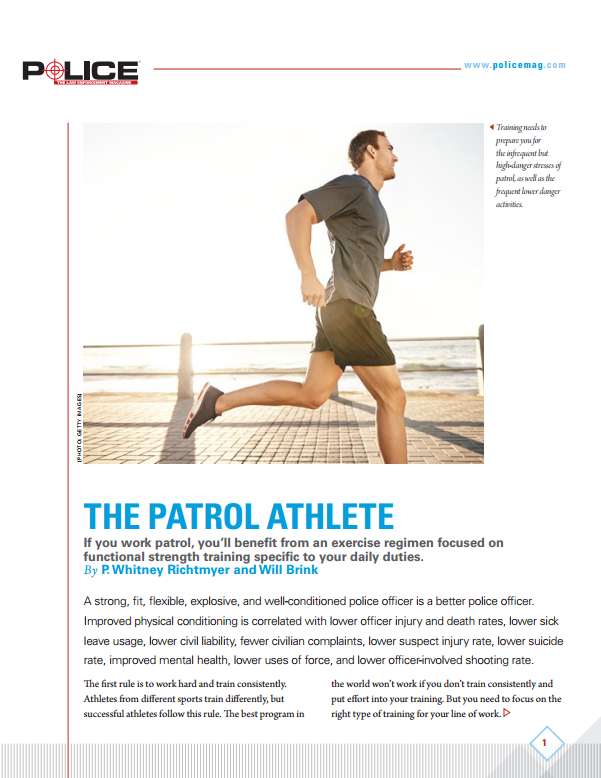The Patrol Athlete